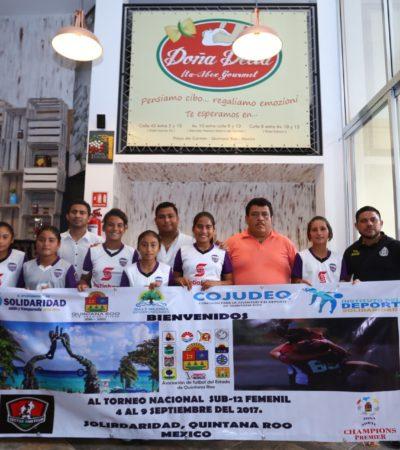 ARRIBARÁN MÁS DE 300 DEPORTISTAS: Será Playa del Carmen sede del Torneo Nacional Femenil Sub 20