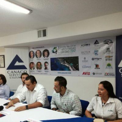 Anuncian congreso de competitividad turística en Cozumel