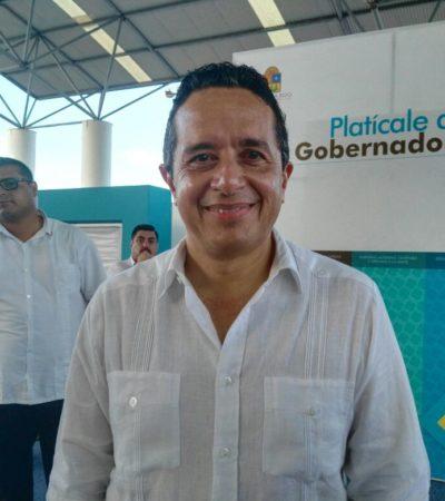 Exhorta Carlos Joaquín al diálogo al interior del PAN; sobre borgistas, dice que lo importante es que haya justicia y no más impunidad