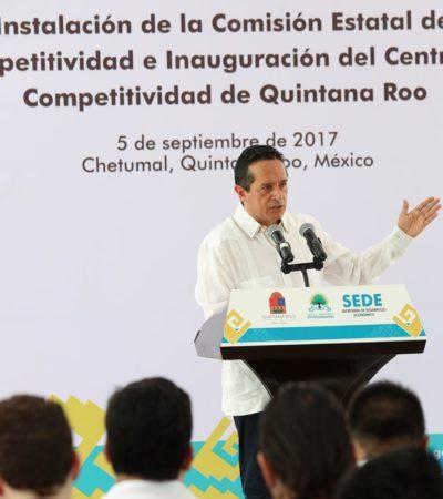 ARRANCA PROYECTO DE PARQUE INDUSTRIAL: Plantea Carlos Joaquín detonar la diversificación económica del sur de Quintana Roo