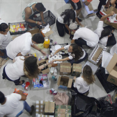 También las empresas suman esfuerzos para ayudar a los afectados del terremoto