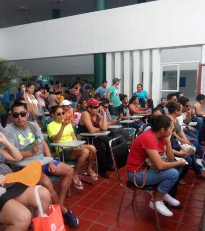 Se agolpa ciudadanía en clínicas por conjuntivitis también en Cancún