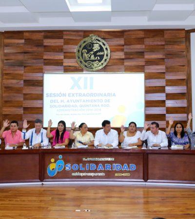 Aprueba Cabildo de Solidaridad fortalecer la participación ciudadana en temas legislativos