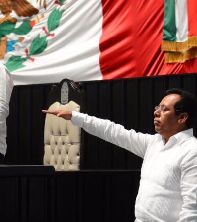 SEPULTAN EL ÚLTIMO VESTIGIO DEL 'PAQUETE DE IMPUNIDAD' DE BORGE: Designa Congreso a Manuel Palacios Herrera como Auditor Superior de Quintana Roo por 7 años