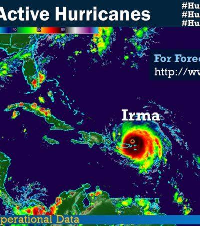TRES HURACANES, TRES: 'Katia' se fortalece en el Golfo de México y golpeará a Veracruz; 'Irma' deja primeros muertos en el Caribe; 'José' avanza hacia EU