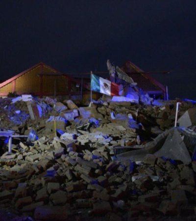 AUMENTAN VÍCTIMAS POR TERREMOTO | Suman 58 muertos por temblor de 8.2 grados: 45 en Oaxaca, 10 en Chiapas, 3 en Tabasco y sigue el recuento