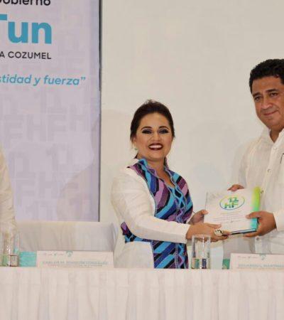 INFORME EN COZUMEL: Pide Perla Tun al Congreso resolver demandas de juicio político contra Fredy Marrufo