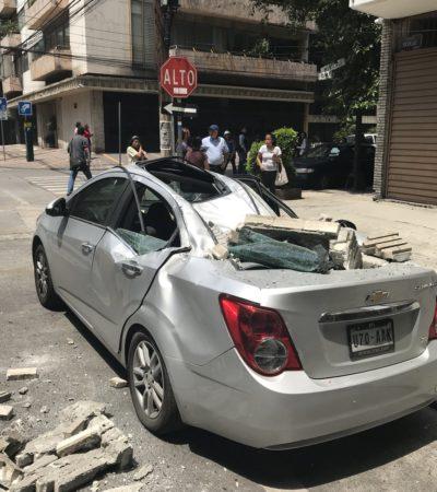 SACUDE NUEVO SISMO A LA CDMX: Reportan movimiento telúrico de 7.1 grados Richter con epicentro en Puebla