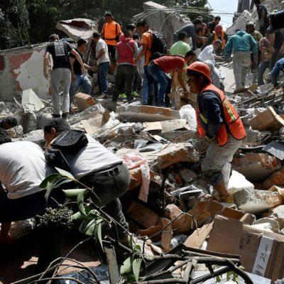 SISMO EN MÉXICO | SALDO PRELIMINAR DE 149 MUERTOS Y SIGUE EL RESCATE: Emergencia nacional por el terremoto que pegó en el corazón del país