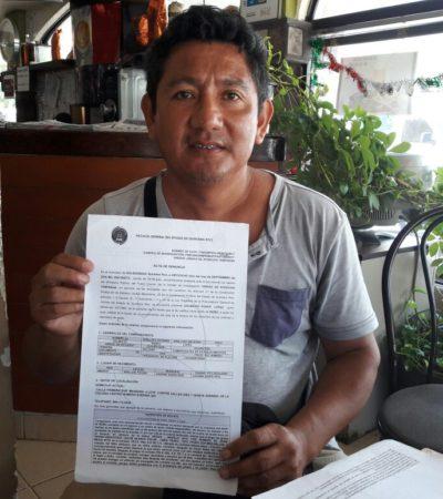 Denuncian a Grúas Peca por robo de vehículo en Cancún