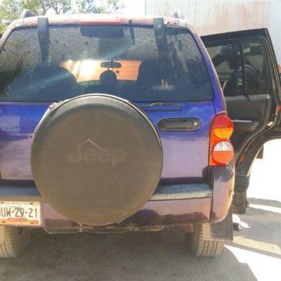 Detienen a empistolados tras persecución en Playa del Carmen