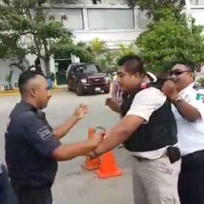 Arrestan a escolta del presidente de Canirac de Playa del Carmen