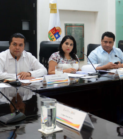 Entrevistan a aspirantes a titular del órgano interno de control del IDAIP