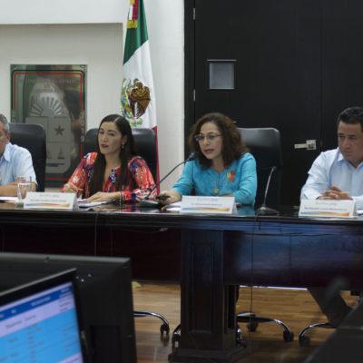 SUDA MARISOL ALAMILLA ANTE DIPUTADOS: Declaran receso tras comparecencia de 5 horas de la Secretaria de Educación