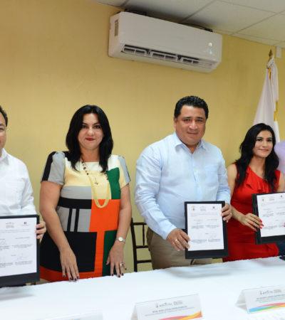 Firma Congreso convenio de colaboración con Colegio de Abogados