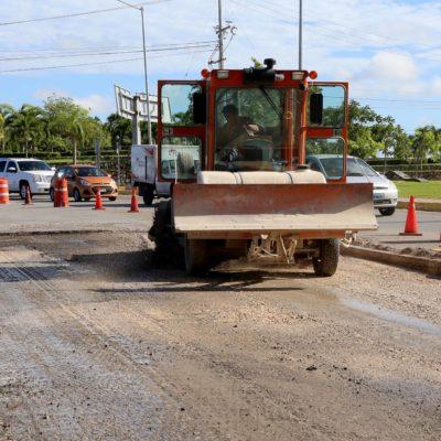 Inicia reconstrucción de la Avenida Kabah en Cancún