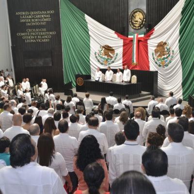 LE LLUEVEN CRÍTICAS A FUNCIONARIOS DEL GABINETE: En Primer Informe de Carlos Joaquín, cuestionan diputados falta de resultados de colaboradores del Gobernador