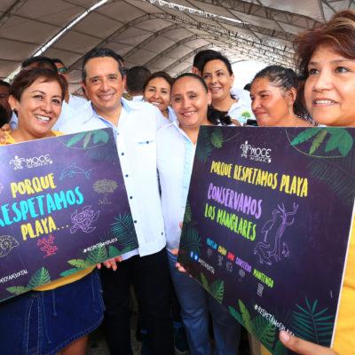 Asegura Alcaldesa que se han redoblado esfuerzos para proteger y preservar el medio ambiente en Solidaridad