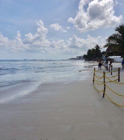 PROVOCA 'IRMA' MAREJADA DE TORMENTA EN QR: Alertan por 'mar de fondo' en destinos del norte