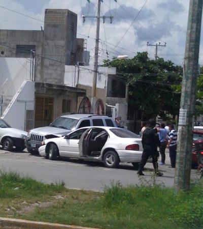 PRELIMINAR | PERSECUCIÓN Y DISPAROS EN CANCÚN: Balean a presuntos ladrones de restaurantes