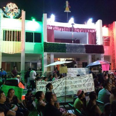 Discriminan a personas con discapacidad en 'El Grito' de Carrillo Puerto