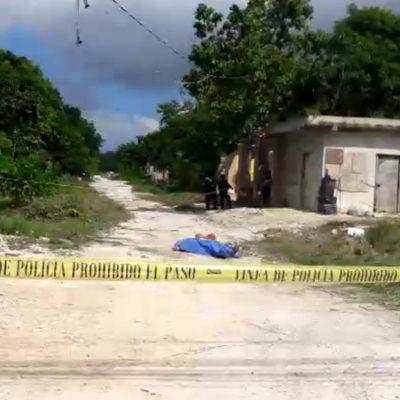 Asesinan a un hombre en la colonia irregular 'El Milagro' de Cancún