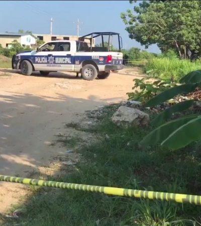 EJECUTADO DOMINICAL EN CANCÚN: Dejan cuerpo tirado en camino de terracería de colonia La Unión