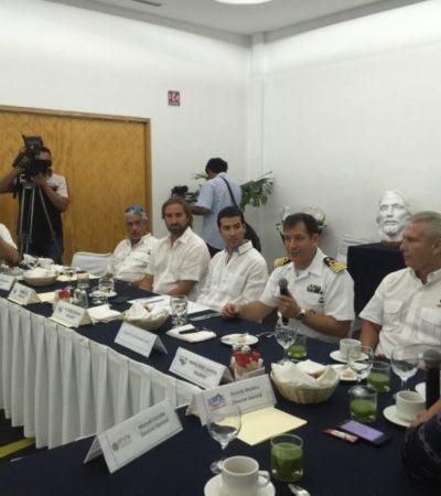 REUNIÓN CON LA SEMAR: Informan a náuticos sobre cambios en capitanías