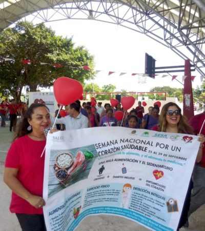 Luchan contra enfermedades cardiovasculares