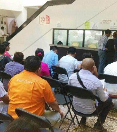SIN INSUMOS NO HAY LICENCIAS: Molestias de ciudadanos que acuden al Ayuntamiento por falta de materiales para trabajar