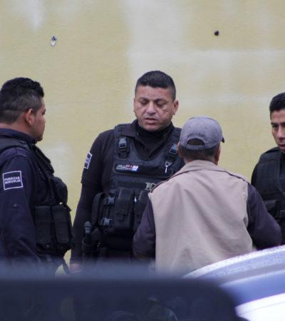 Integran carpeta de investigación contra 4 personas detenidas con armas de fuego en Cancún