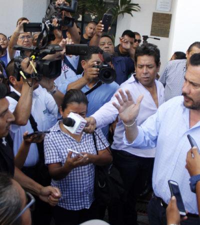 PROTESTAN POLICÍAS EN CANCÚN: Reclaman pago retroactivo y denuncian carencias en la corporación