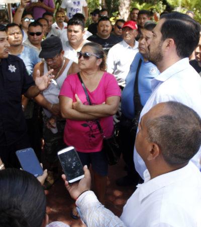 Tras manifestación en Palacio, logran policías de Cancún pago retroactivo
