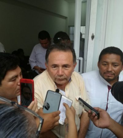 Candidatos de Morena saldrán por encuestas: Pech Várguez