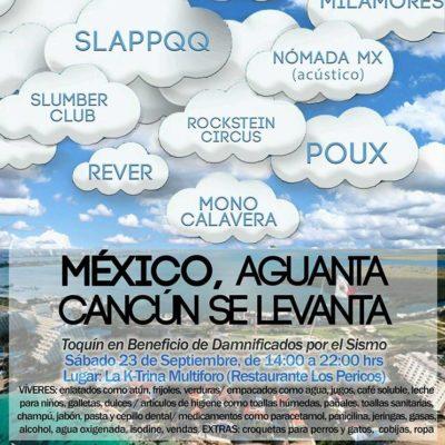 'TOQUINES' Y TATUAJES CON CAUSA: Se unen más a las donaciones para damnificados en Cancún y Playa