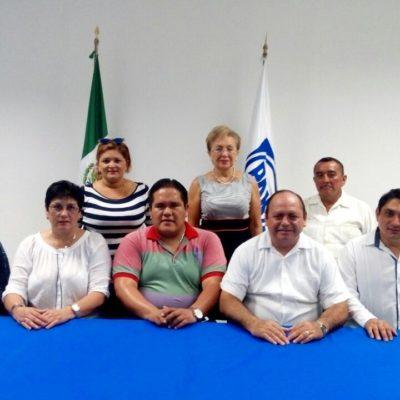 Ratifican a Germán González Pavón como dirigente municipal del PAN en Chetumal