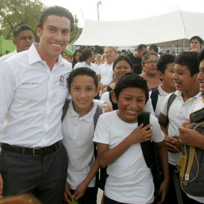 No se descuida el trabajo social porque es fundamental para una mejor sociedad, dice Alcalde de Cancún