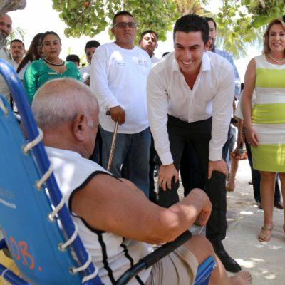 Inician los trabajos de construcción de infraestructura para playa inclusiva en Las Perlas