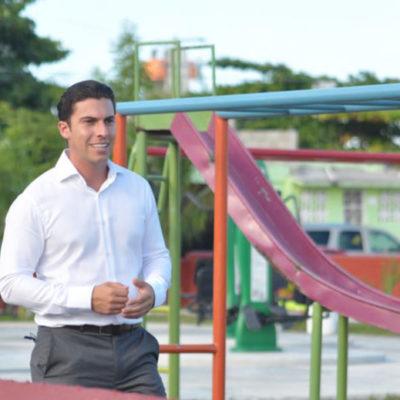 Asegura Alcalde que continuará con la obra pública para dignificar a Cancún
