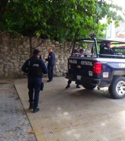 Detienen a automovilista con revolver en Playa del Carmen