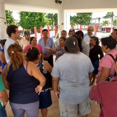 Persiste plantón en Carrillo; les prometen solución en una semana