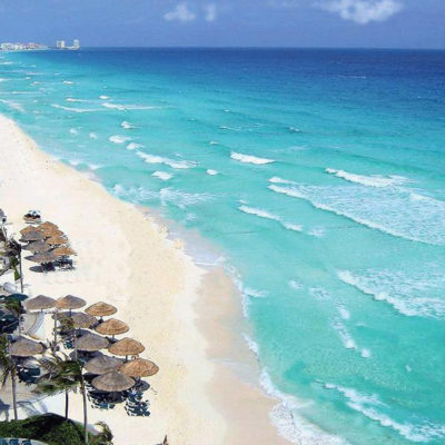 Tendrá Cancún en un mes su tercera bandera blanca