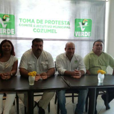 """""""¿QUÉ DICES, CAPI?"""": Presentan a Salvador Rocha como dirigente municipal y futuro candidato del PVEM en Cozumel"""