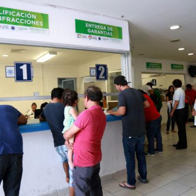 Remodelan oficinas de Tránsito de Cancún; aseguran que se notará en mejor atención y servicios