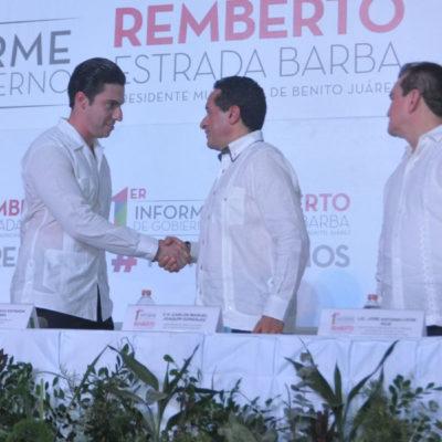 Hay trabajo en coordinación con Remberto, dice Carlos Joaquín