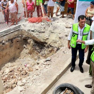 A unos días de su primer informe, asegura Alcalde que se están logrando metas para consolidar a Cancún 'de 10'