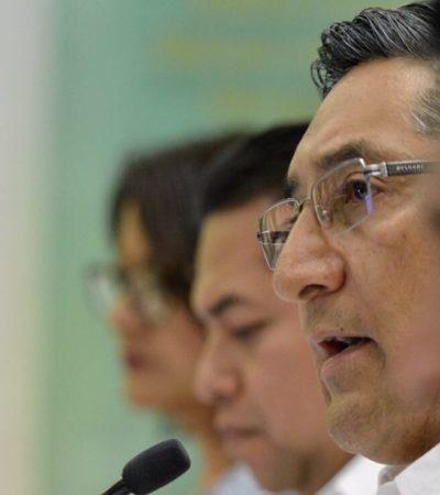 Reitera Juan Vergara saneamiento de finanzas para el próximo año; preparan presupuesto de 29 mil 800 mdp