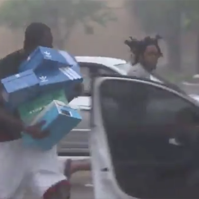 LA PEOR CARA DE MIAMI: En medio de la emergencia por el huracán 'Irma', se registran saqueos