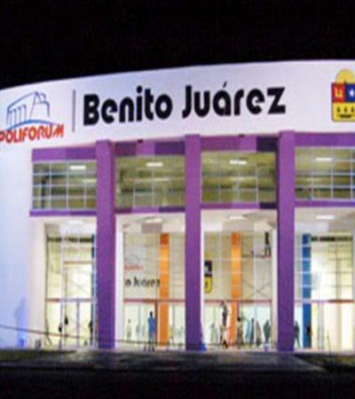 Rompeolas: Bonus Track | PoliforumBenito Juárez, sede del informe alterno de Carlos Joaquín