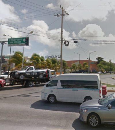 Habilitarán par vial en las avenidas Xcaret y Cobá de Cancún a finales del año